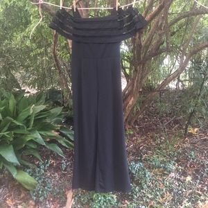 👗 Dressy Unique Vintage Black JUMPER XL